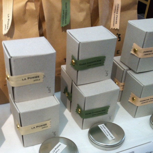 Gorgeous tea packaging at spiral
