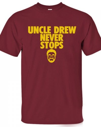 Basketball NBA cleveland cavaliers uncle drew t shirt for men Kyrie Irving tee