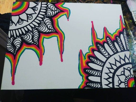 Psychedelic Trippy Art Drawings