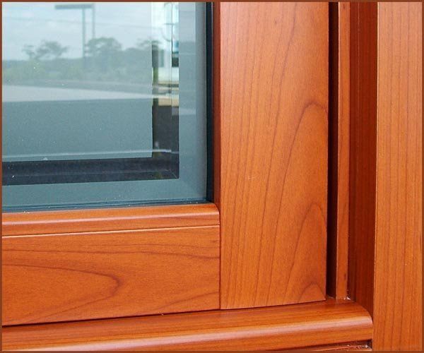 Capral Genesis French Door in Western Red Cedar - powder coating aluminium - http://www.decorativeimaging.com.au/index.php?option=com_rsgallery2&page=inline&id=26&Itemid=53 #window #redcedar #timber #design #architecture