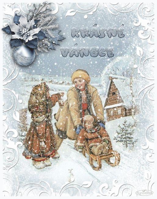 Vánoční přání třpyt a animace - různá | vánoční blog