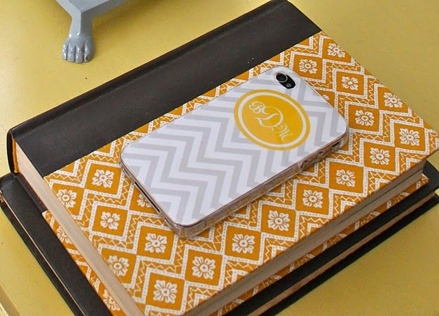 DIY Monogram iPhone case for $5 - not too shabby!