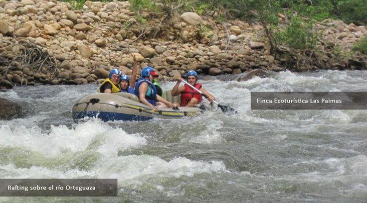 Rafting sobre el Río Orteguaza
