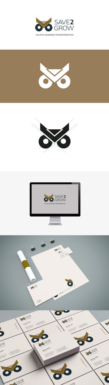 Σχεδιάσαμε το λογότυπο και την εταιρική ταυτότητα τηςεταιρίας συμβούλων Save2Grow. Logo design, branding:Media Designers