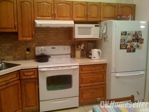 kitchens with white appliances and oak cabinets oak cabinet white appliances modern white appliances 9860