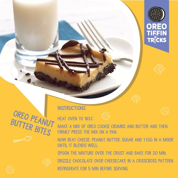 Utterly butterlypeanuty! A delicious Oreo dish to prepare at home with ease. #OreoTiffinTricksbit.ly/1XG5Xxd