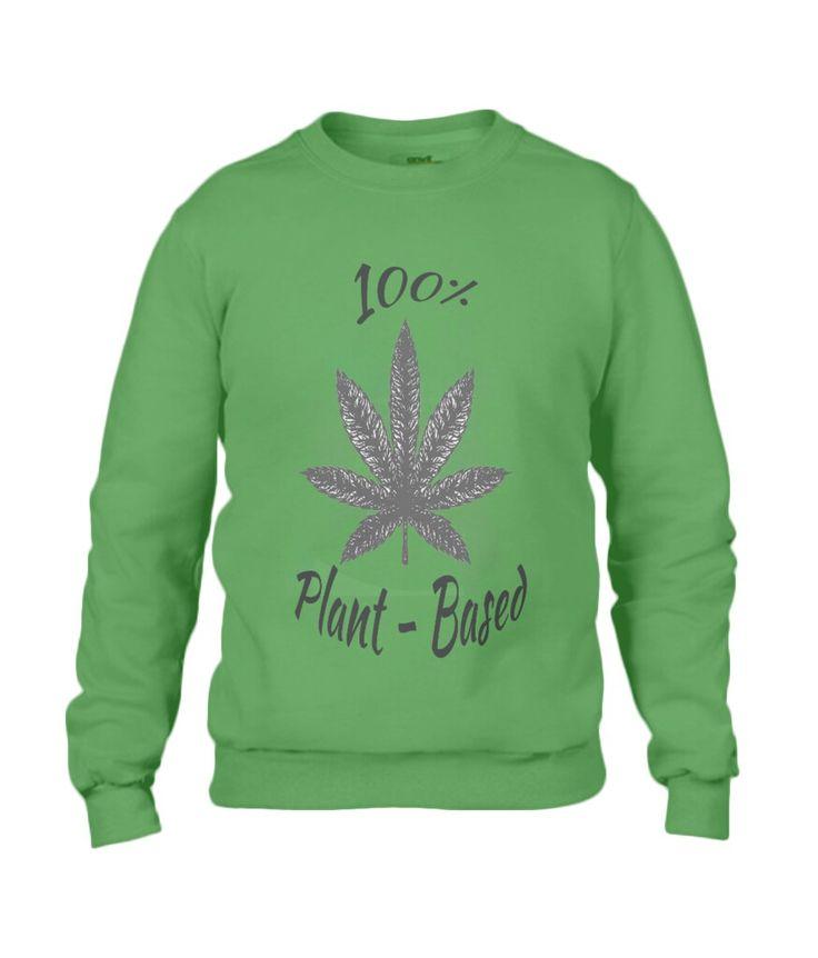 100% plant based. Vegan sweater at www.beardsandethics.com