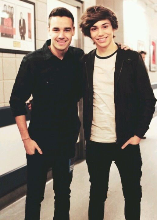 George shelley with Liam