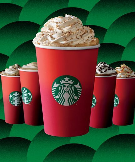 Holiday lattes are officially back at Starbucks!