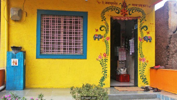 Shani Shingnapur dans le Maharashtra, la ville où il n'y a pas de portes