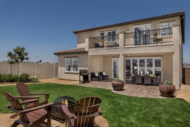 New Homes In Murrieta Ca Santolina At Spencer S Crossing Residence 3368 Patio New Homes Kb Homes
