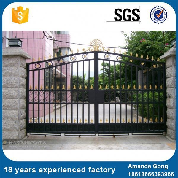At Reasonable Prices Cheapest Front Metal Driveway Gates For Sale