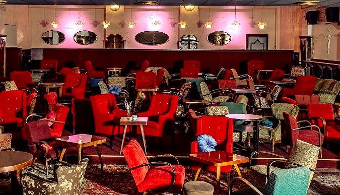 Royal Theatre Cafe, Prague, Czech Republic