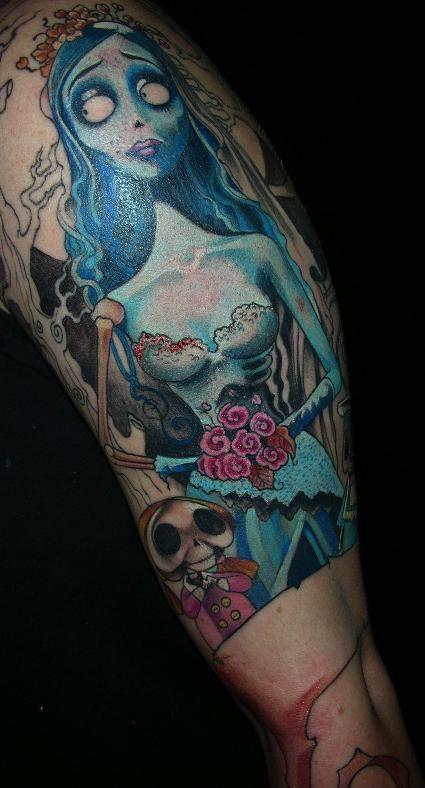 Corpse Bride tattoo 03.JPG (425×788)
