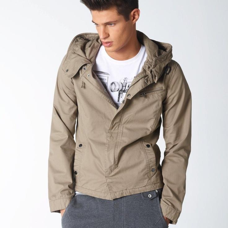 Tipster | Hooded Blouson Jacket