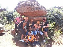 Many of the activities in or around Johannesburg can be used as part of a structured teambuilding programme but there are a few specialised teambuilding centres where participants can do high ropes, inflatable obstacle courses, mountain boarding, zorbing and a host of other seemingly silly and fun but really very serious and sometimes quite difficult activities.