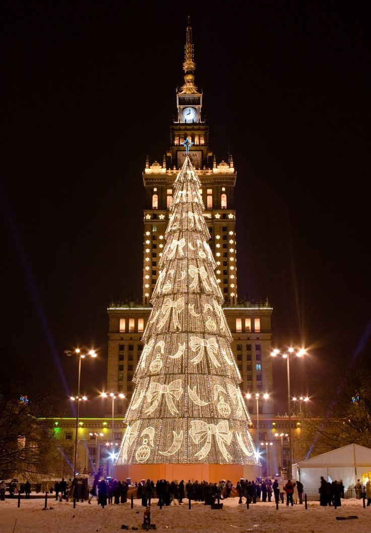 Christmas in Poland - Warsaw,