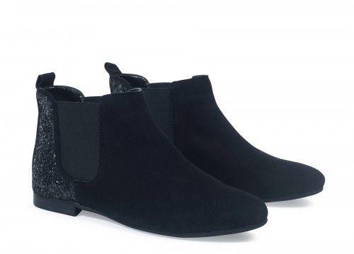 Boots à paillettes André