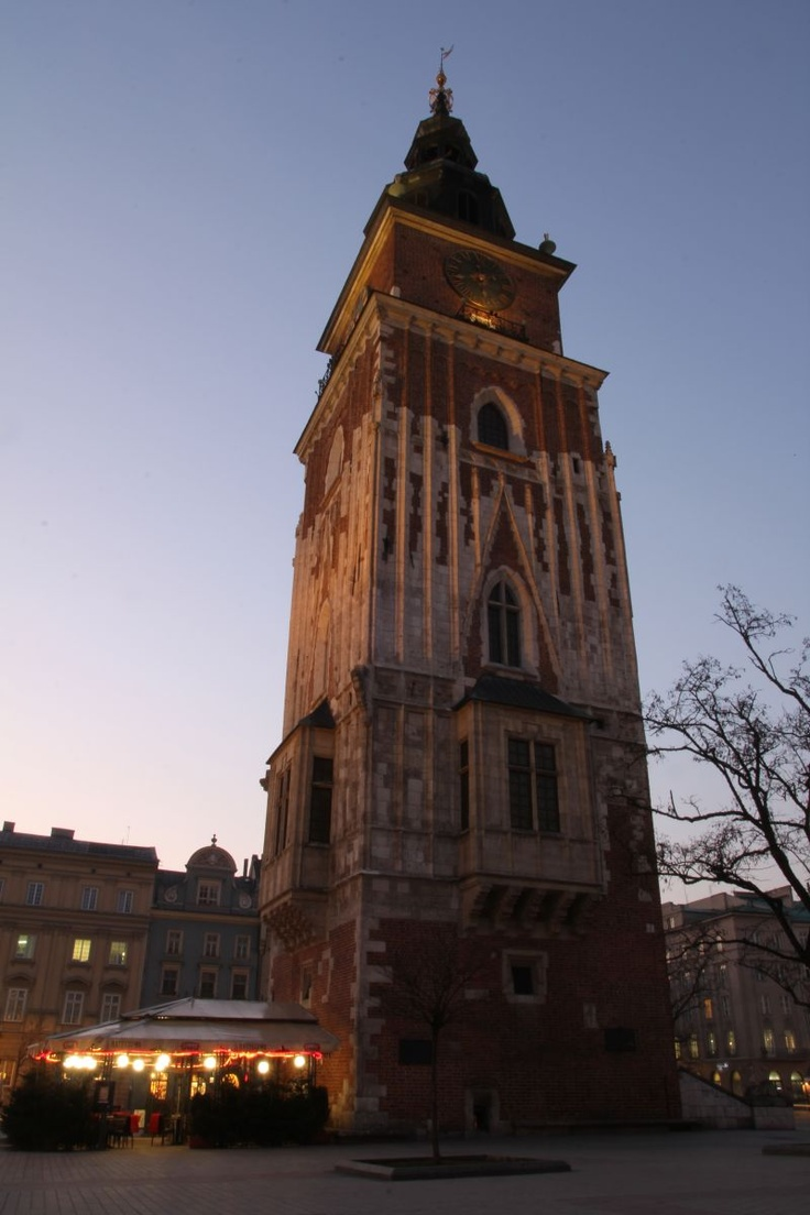 Wieża Ratuszowa na Rynku / Ratusz Tower on Cracow Main Square