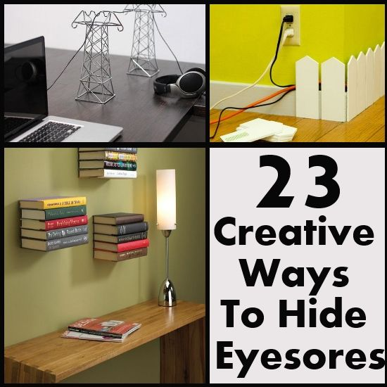 8 Ways To Hide Your Tv In Plain Sight: 75 Best Hiding House Eyesores Images On Pinterest