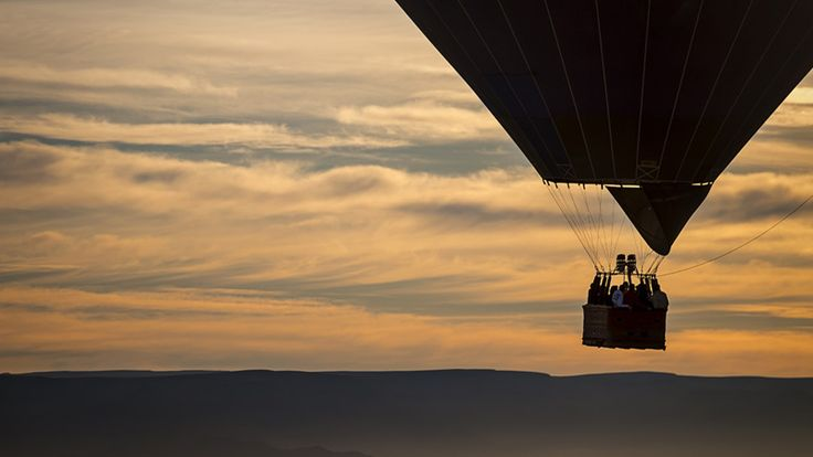 Soar across the Namibian desert in a hot-air balloon with Ker & Downey Africa #luxurytravel #desert #namibia #balloonsafari