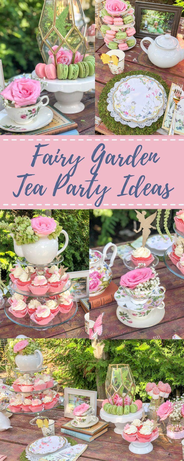 Fairy Garden Tea Party Ideas For Girls Fairy Birthday Party