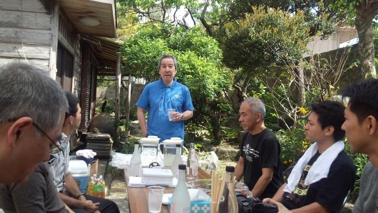 春の園遊会 咲元酒造さんの庭で開催されました。
