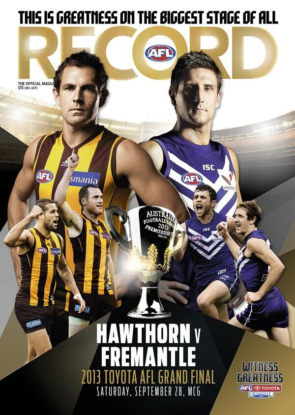AFL Record (AFLrecord) on Twitter - I'll give you 2 for 1 up to $150.00