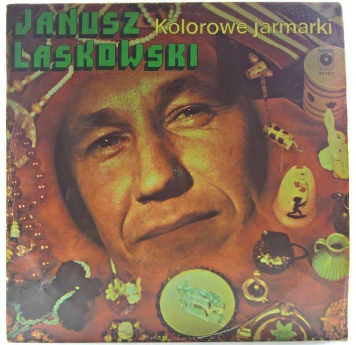 Janusz Laskowski Kolorowe Jarmarki Plyty Winylowe Rock Pop