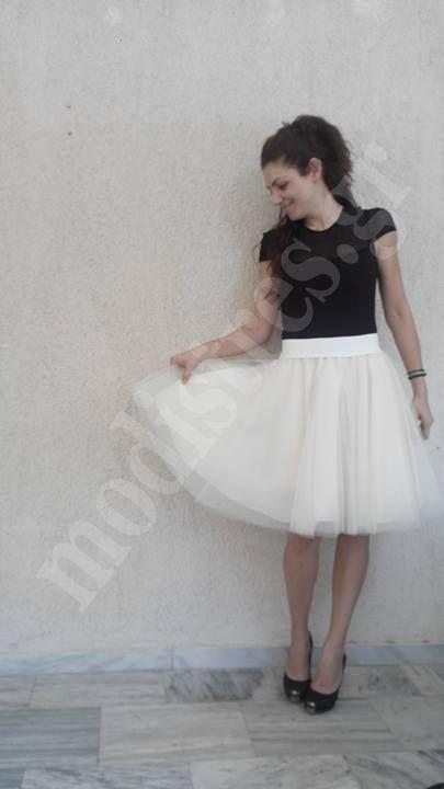 Τούλινη φούστα tutu. http://bit.ly/1LWYHqr