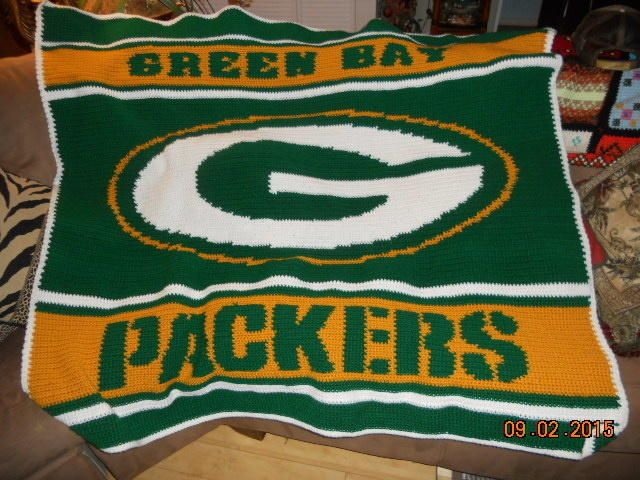Crochet Pattern Green Bay Packer Afghan : 1000+ Bilder zu Crochet auf Pinterest