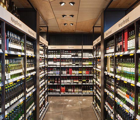 REWE 2020, Weil am Rhein (Germany) #Oktalite #retail #lighting #food #wine