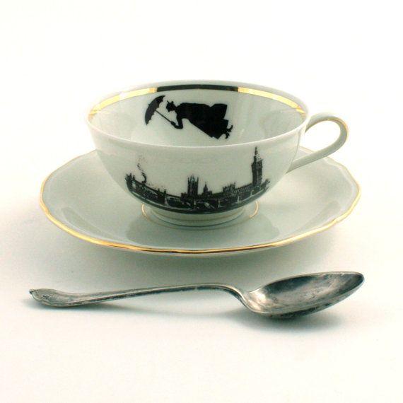 Mary Poppins tea cup! @Lisa Phillips-Barton Phillips-Barton Phillips-Barton Phillips-Barton Frazier