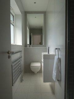 Small bathrooms - modern - bathroom - london - by Slightly Quirky Ltd