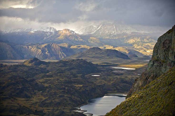 Scenes in Valle Chacabuco, Province of Aysen, in the heart of Chilean Patagonia. The future Patagonian National Park.