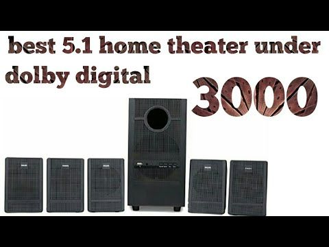 Best dolby digital home theater under 3000 by tech with me