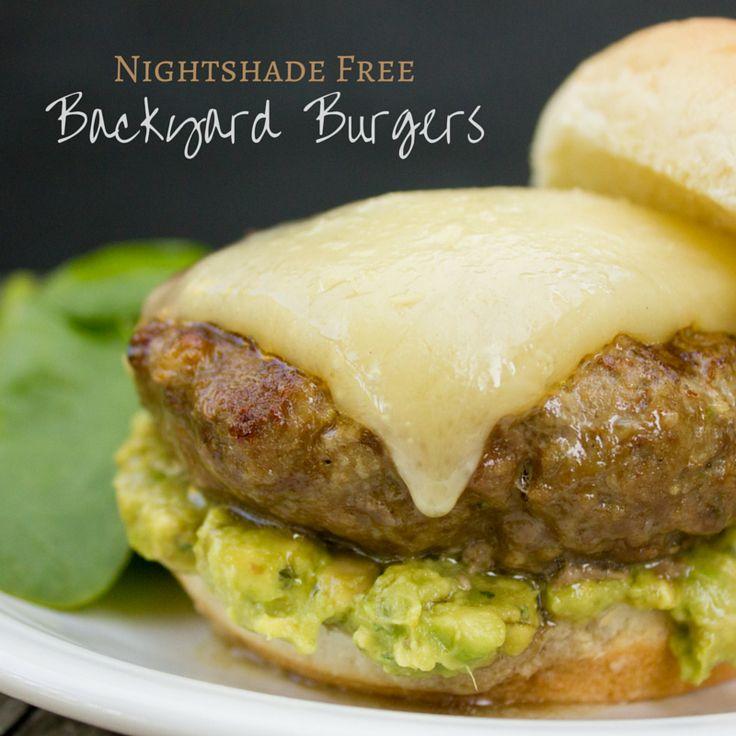 Nightshade Free Backyard Burgers - I Say Nomato Nightshade Free Food Blog