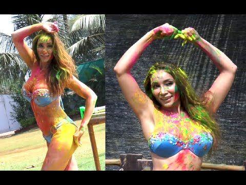 CHECKOUT Sofia Hayat's UNCUT and UNCENSORED hot Holi Bikini Photoshoot Video - 2. (18+)   #sofiahayat #bollywood #bollywoodnews #holi #photoshoot #hotphotoshoot #holiphotoshoot