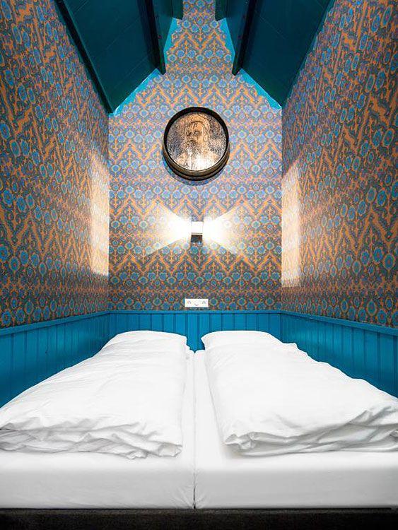 Hotel Not Hotel | Week end insolite à Amsterdam | Hotels-insolites.comaurez-vous retrouver les chambres cachées dans cet hôtel d'Amsterdam ?