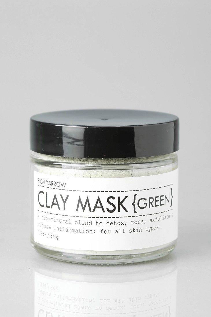 Fig + Yarrow Clay Mask