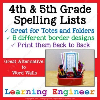 """Word walls just take up too much valuable classroom wall space and take too much time managing. I have a better solution, spelling lists! I find these lists work much better since they are portable and kids can use them at home as well as in class. I wrote a blog post about using these lists called """"Spelling Lists vs Word Walls""""."""