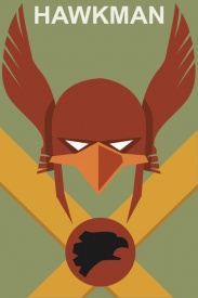Hawkman Comic Book Poster