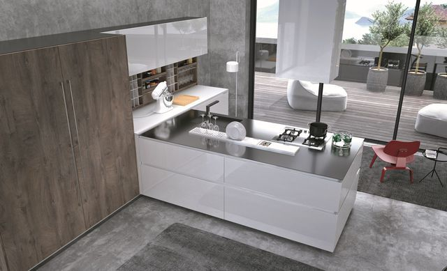 17 best ideas about plan de travail inox on pinterest - Cuisine plan de travail granit ...