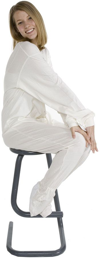 Big Feet Pajamas Adult Ivory Jersey Knit One Piece Footy $44 - SHOP https://www.thepajamacompany.com/big-feet-pajamas-adult-ivory-jersey-knit-one-piece-footy.html?category_id=336