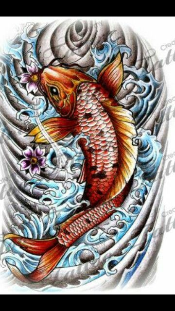 Best 25 coy fish ideas on pinterest koi art fish for Koi pond tattoo