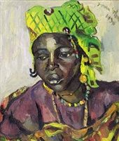 Dakar Woman by Irma Stern