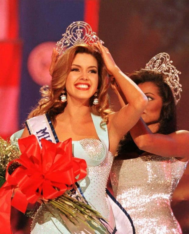 Miss Universe Alicia Machado is the start of Donald Trump's history as a pageant creep.