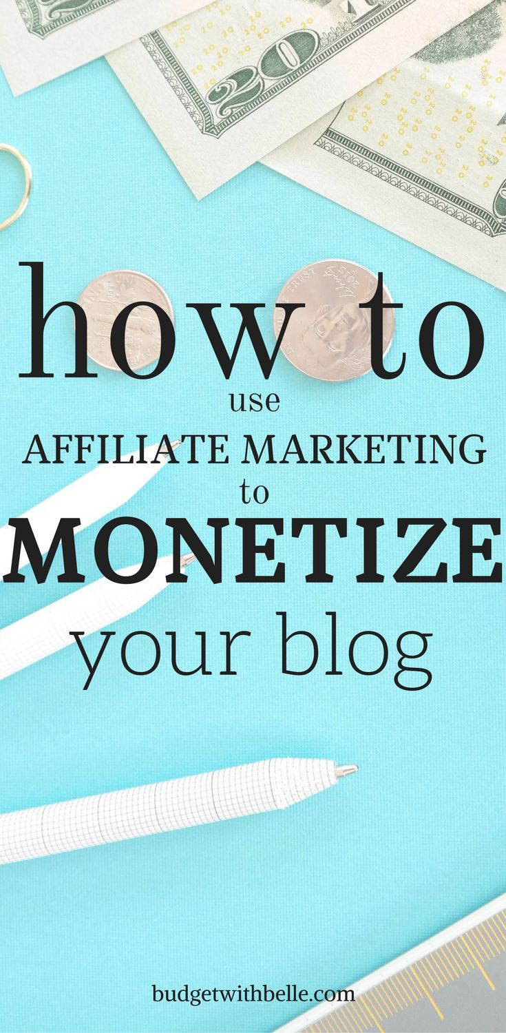 How To Use Affiliate Marketing To Monetize Your Blog. How To Make A Full-Time Income With Affiliate Marketing.This tutorial will show you how to make money with affiliate marketing. Bloggers and WAHMs can make extra money using their pins. You can get paid just for going on Pinterest. Learn the best ways to use affiliate links on your pins to increase your income. Learn which are the best affiliate programs to join and which products sell well for affiliate marketers on Pinterest. All the…