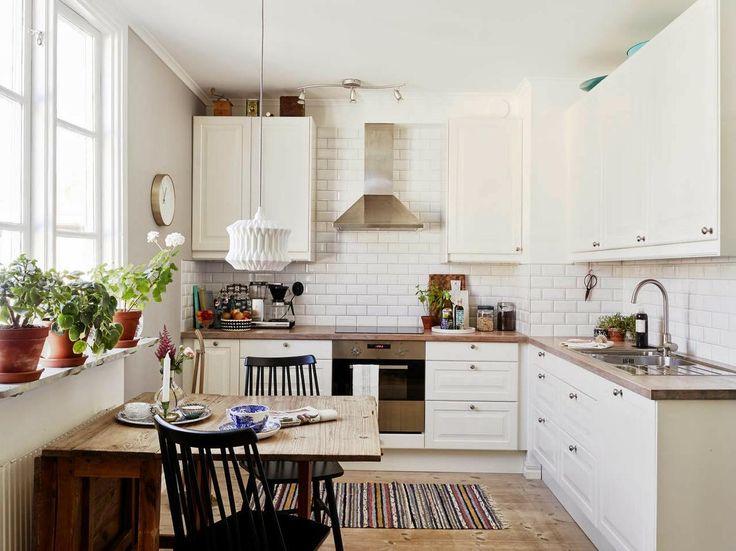 ideas deco cocinas integradas en el saln comedor