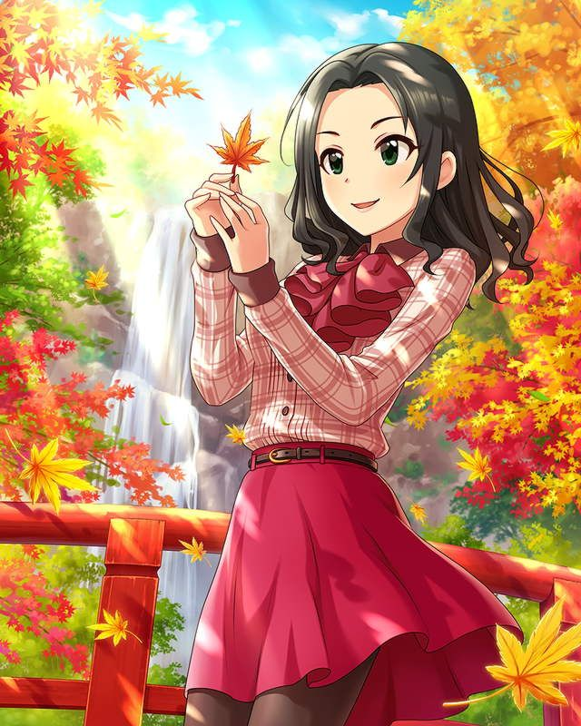 Fall Anime Girl Www Pixshark Com Images Galleries With
